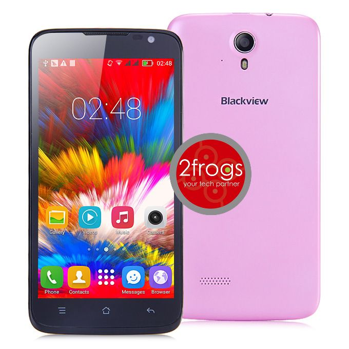 Smartphone BlackView ZETA 5 inch, Octa core, Dual SIM - ΡΟΖ - See more at: http://shop.2frogs.gr