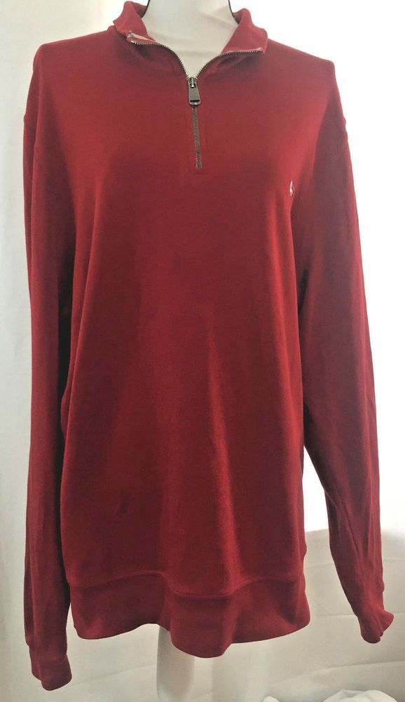 93dccbf15d74 Burberry London Womens Long Sleeve Polo XXL 2XL Plus Size Red Pullover  Jacket  Burberry  Blouse  Casual