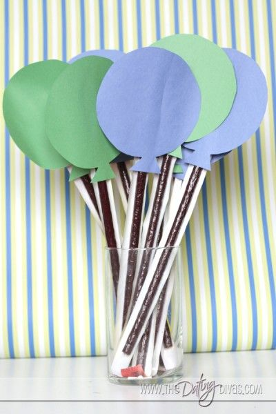 Balloon {Beef Jerky} Bouquet - Birthday Gift thedatingdivas.com