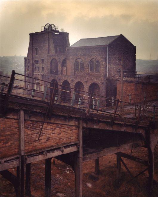 #Coal #mine Derbyshire #industry