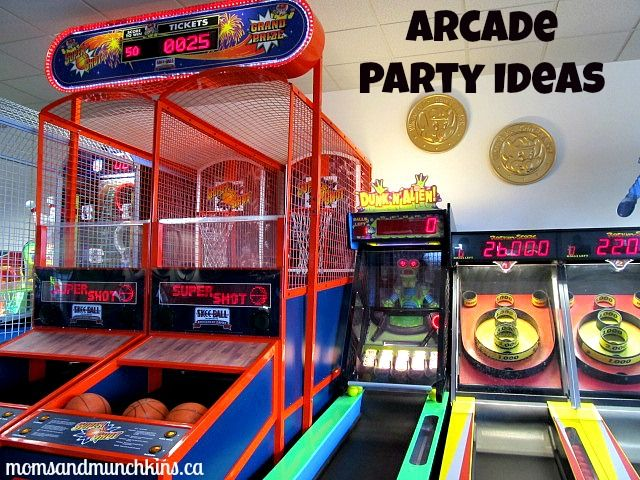 arcade party pictures teens