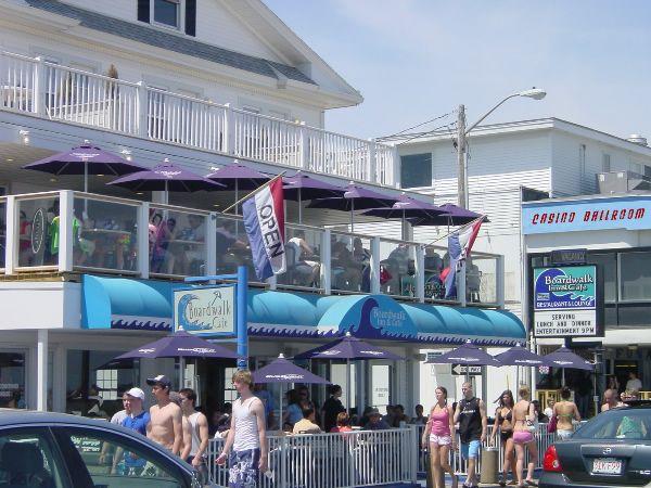 Boardwalk Inn, Hampton Beach Hotel, Hampton Beach, New Hampshire, 03842