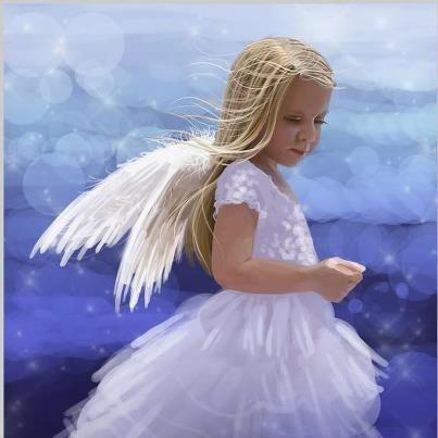 Little Angel ~ Nancy Noel
