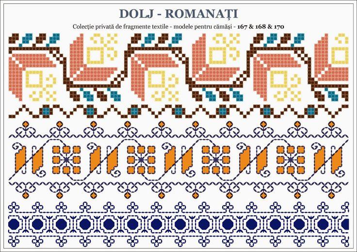 Traditional Romanian motifs - OLTENIA, Dolj-Romanati
