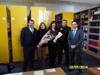 Celebrando Día del Bibliotecario, Sede Melipilla