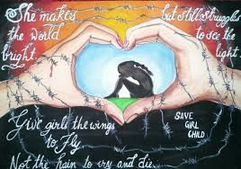 Image result for save girl child drawings for kids