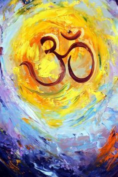 """OM SHANTI The whole universe is made up of vibrating, pulsating energy. Om is considered to be the humming sound of this cosmic energy. It is also known as the """"Anahat Nada""""or the """"Unstruck Sound"""", meaning that it is not made by two things striking together.The body cells, molecules, atoms and sub-atomic particles all vibrate in the same wavelength as the mantra. When we chant Om, we bring peace and light down from above and create a universal harmony within and without us.ॐ"""