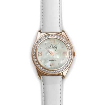 Buy Destiny Leather Watch (White) - Crystals from Swarovski® online at Lazada Singapore. Discount prices and promotional sale on all Fashion. Free Shipping.