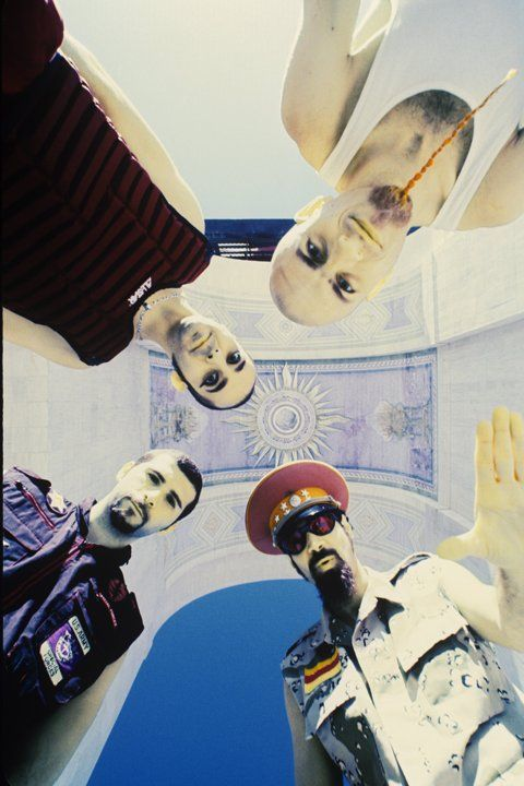System of a Down is an OLD favorite of mine. Their music is always popping up in my head because it just sticks with you once you've heard them.