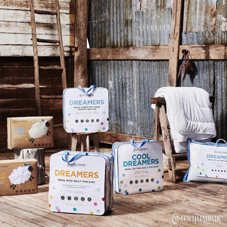 #MiniJumbuk #AustralianMade #improvesleep #quality #betternightssleep #bedding #LOVEWOOL #kidsrange #dreamers #wool #woolquilt #quilt #mattresstopper #underlay #underblanket #pillow #cot #SAproud #handcrafted