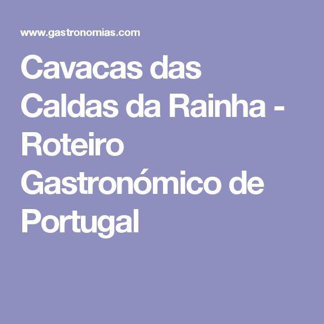 Cavacas das Caldas da Rainha - Roteiro Gastronómico de Portugal