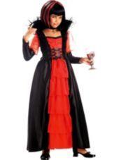 Girls Regal Vampira Vampire Costume - Vampire Costumes - Girls Costumes - Halloween Costumes - Categories - Party City