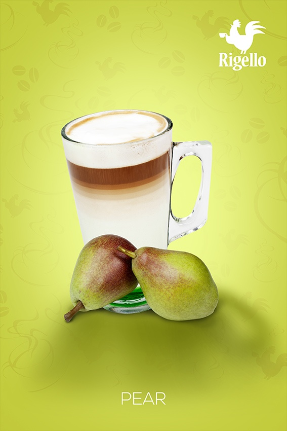 #Fruit Line: #Pear #Coffee by #Rigello