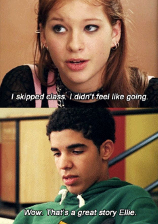 When no one understood what a badass you were. | 23 Times Degrassi Perfectly Summed Up Your High School Experience