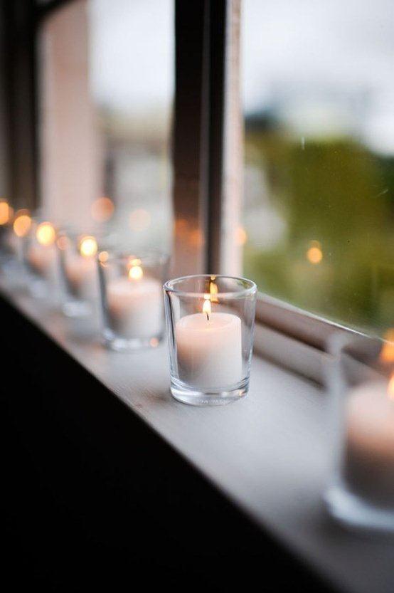 kaarsen met kerst