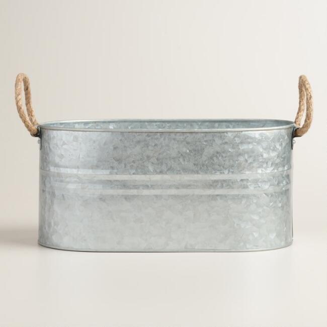 17 best ideas about galvanized trough on pinterest for Galvanized well bucket