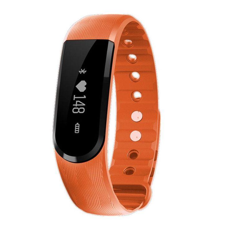 Smart Wristband ID107 Heart Rate Monitor Smartband Fitness Tracker Sport Bracelet Pulsometer Smart Band PK Fitbits MI Band 2
