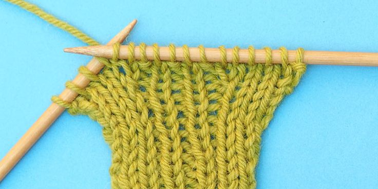 How to increase stitches in pattern 10 rows a day