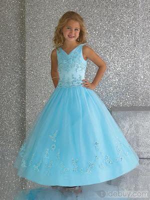 Fotos de vestidos de fiestas para niñas - Paperblog