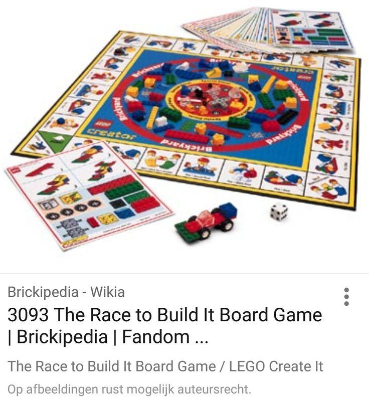 Creationary Lego bordspel
