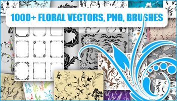 1000+ Floral Vectors & Brushes
