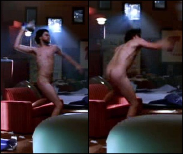 leonardo dicaprio nude in movie
