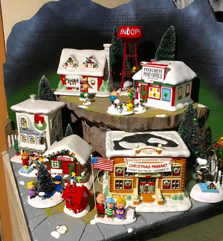 D56 Peanuts Village