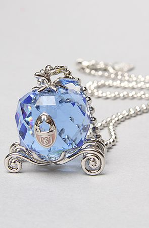 Disney Couture Jewelry The Icon Collection Cinderella Carriage Necklace.. this is just gorgeous!