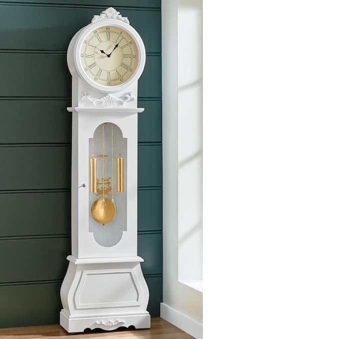 Farmhouse Grandfather Clock Montgomery Ward In 2020 Grandfather Clock Modern Grandfather Clock Country Door