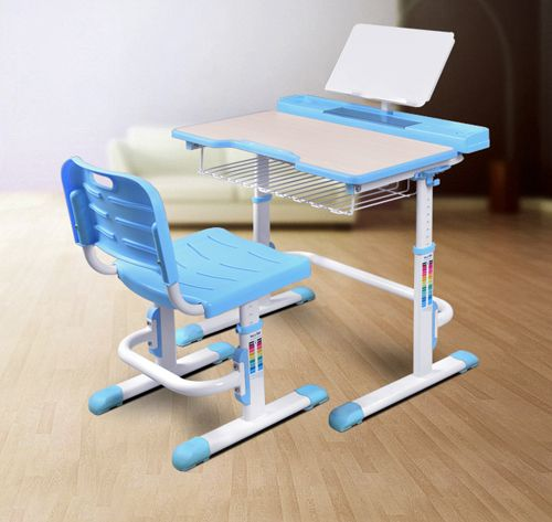 "Maxi is the ""traditional"" school desk and the largest kids height adjustable desk and chair set sold by Best Desk."
