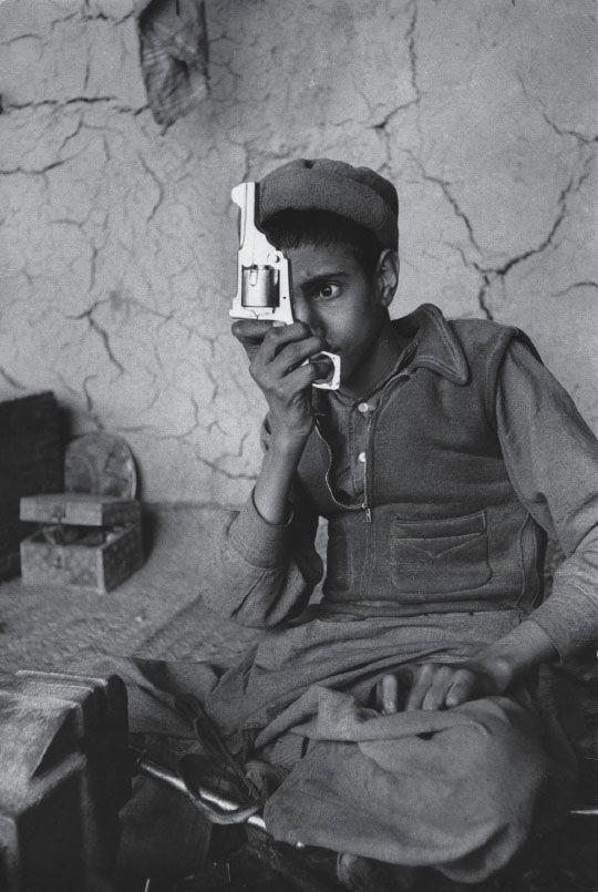Fabrique d'armes, Afghanistan, 1956