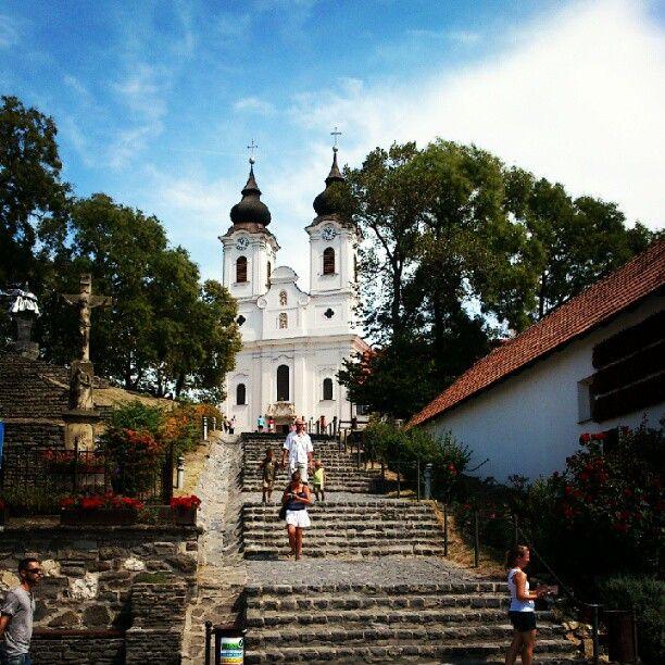Tihany in Veszprém megye, Hungary
