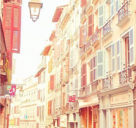 pastel town