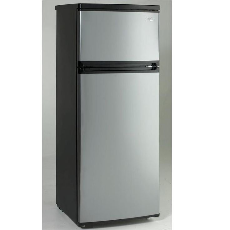 avanti 7 4 cf two door apartment size refrigerator black