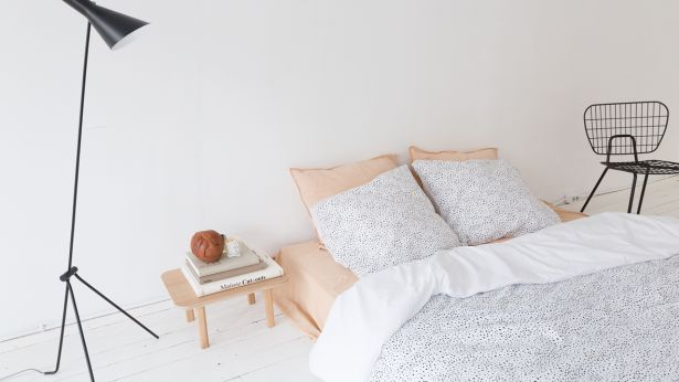 Inspiratieboost: wit beddengoed met print en borduursels