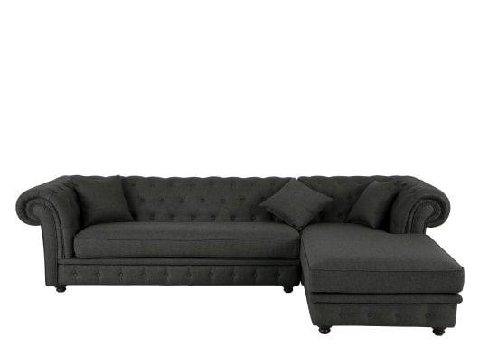 Made Sofa Grau Ecksofa 3 Sitzer Sofa Und Sofa