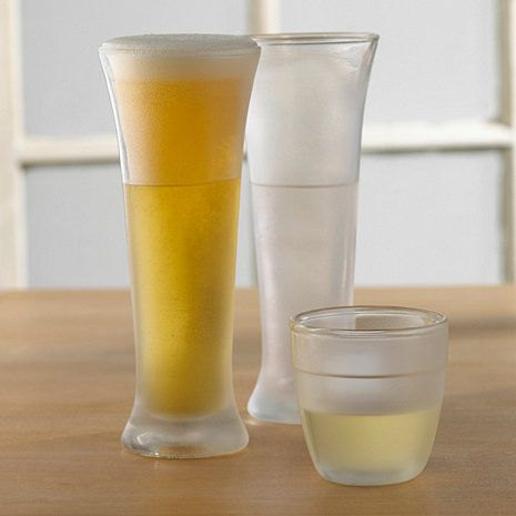 Freeze Pilsner Beer Glass (Set of 2) at Wine Enthusiast - $39.95