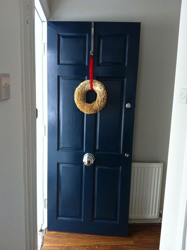 Farrow and ball Hague blue front door