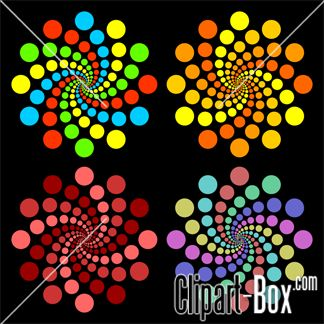 CLIPART COLORED CIRCLES