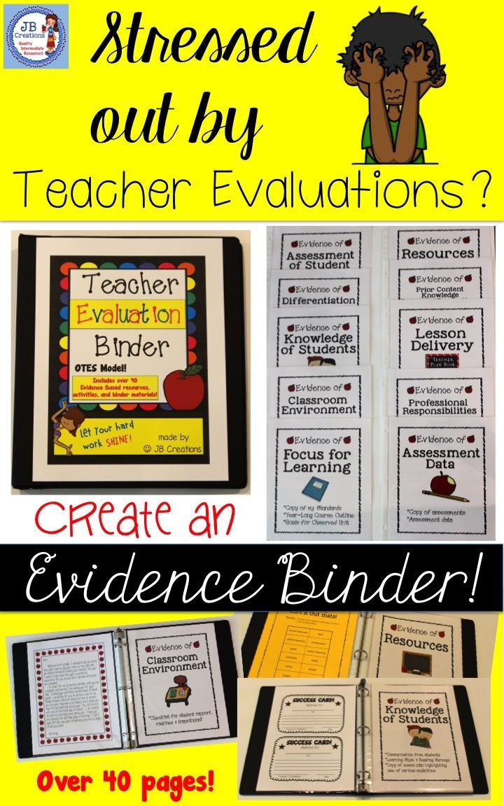 "This comprehensive bundle will assist you in putting together an evidence based binder that covers all standards in the evaluation process! More than just colorful dividers, this product focuses on providing you with copies of valuable resources, ideas, and tools! I was trained as a teacher evaluator and by organizing my evidence, I was able to achieve an ""accomplished"" rating 2 years in a row…"