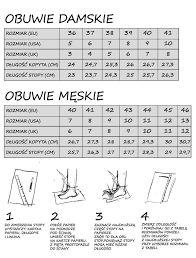 Znalezione obrazy dla zapytania miary butów