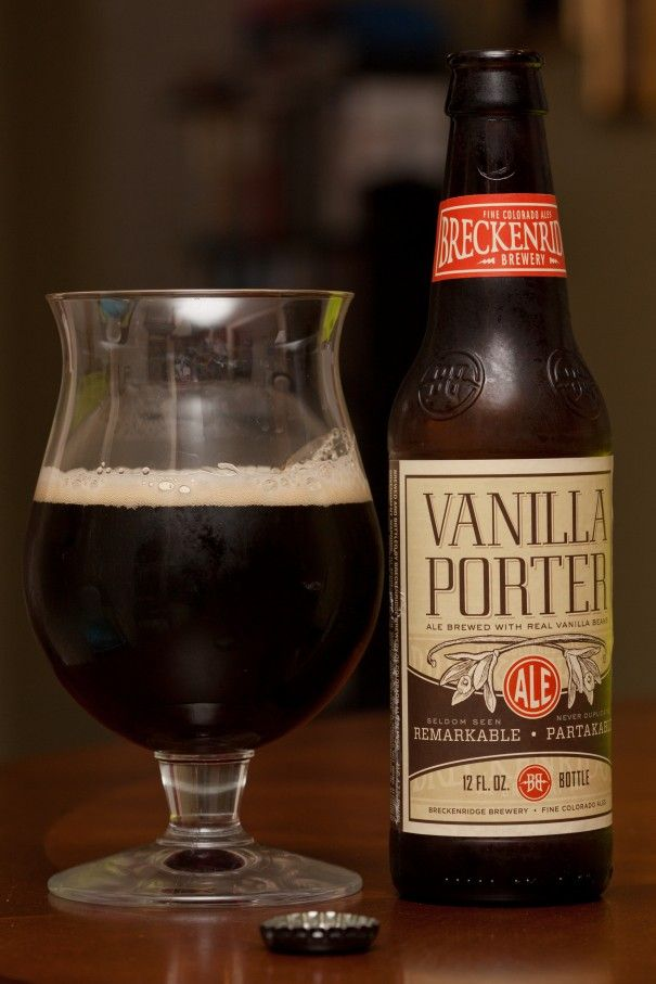 Breckenridge Vanilla Porter.  All the more reason to welcome the cooler weather.  My local liquor store only stocks it in the winter.