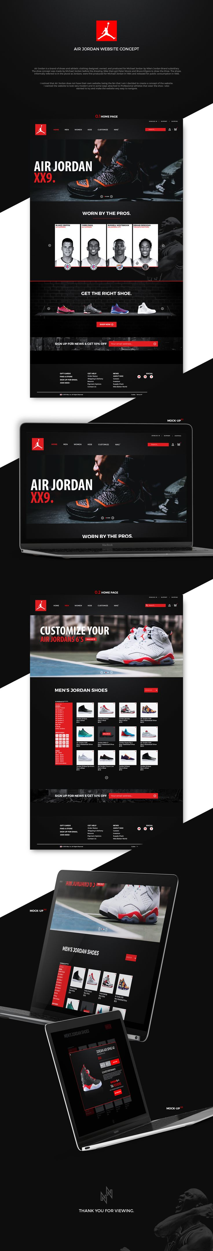 I noticed that Air Jordan does not have their own website, being the fan that I am I decided to create a concept of the website. I wanted the website to look very modern and in some ways attached to Professional athletes that wear the shoe. I also wanted …