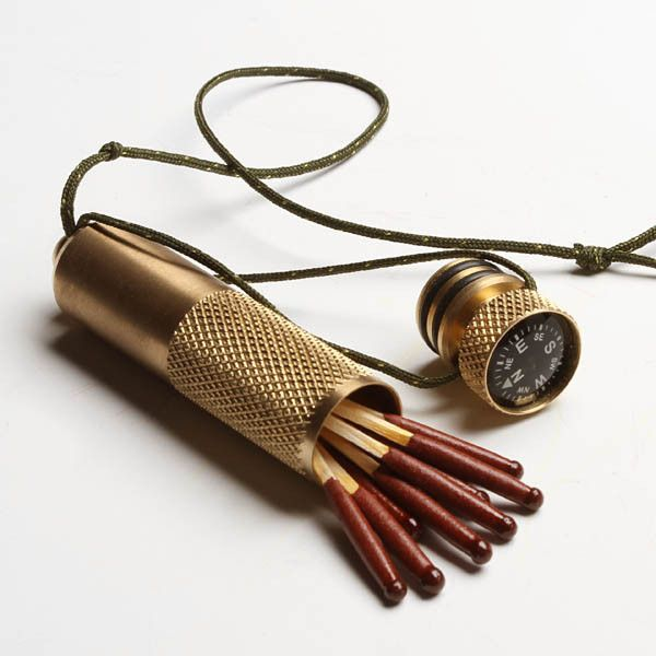 Brass Stow-Away Capsule, Best Made Co.