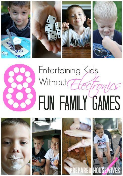 Fun Family Games Sans Electronics