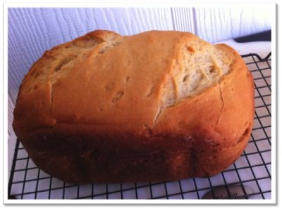 Gluten Free Bread Machine Recipe for White Bread.  This one really works and tastes good!