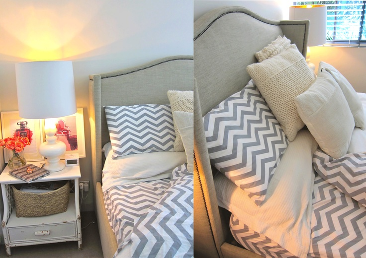 25 best ideas about chevron bedrooms on pinterest 11076 | af098d31407add2743e7554488bee220