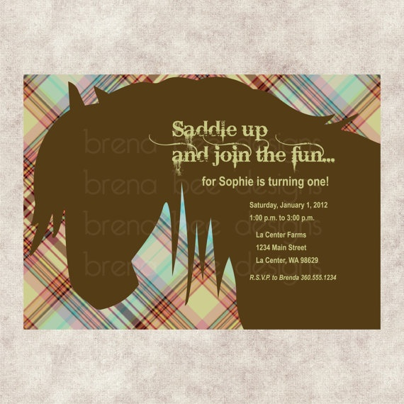 190 best Equestrian Party images – Horse Party Invitations
