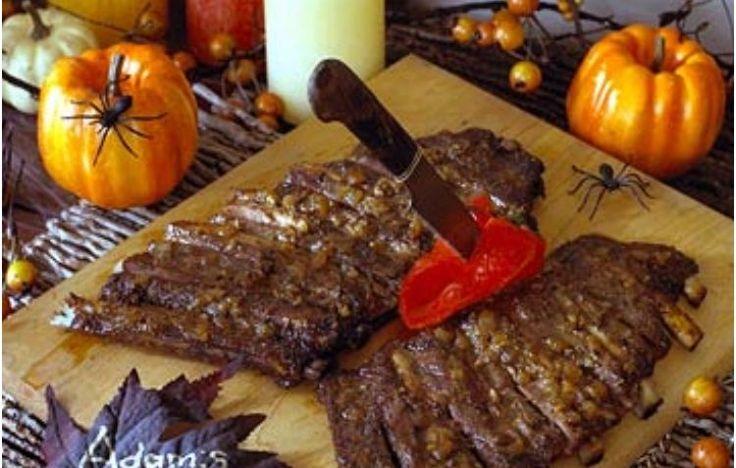 Закуски и блюда на Хэллоуин - фото. Лучшие идеи для оформления праздничного стола на Хэллоуин.