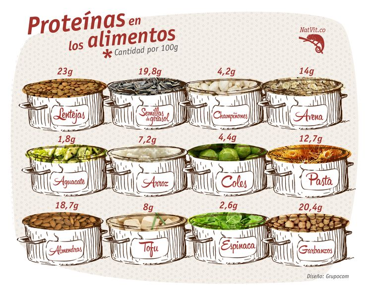 Las proteínas son los pilares fundamentales de la vida. El cuerpo necesita proteína para repararse y mantenerse a sí mismo. Por eso esta vez les traemos esta infografía que les informa sobre la cantidad de proteínas que contienen algunos alimentos.